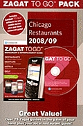 Zagat to Go Pack: Chicago Restaurants with CDROM and Sticker (Zagat to Go Packs)