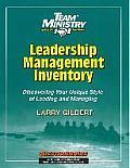 Leadership/Management Inventory