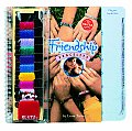 Friendship Bracelets With 10 Skeins Floss Beads Plastic Klutz Clip