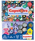 Capsters With Bottlecap Art Charm Gems Glitter Special Goo
