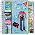 Paper Fashions Design Your Own Styles With Other Craft Supplies 20 Tiny Hangers & Plastic Stencil Shapes & Beads