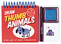 Draw Thumb Animals Fine Art At Your Fing
