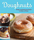 Doughnuts: Simple and Delicious Recipes to Make at Home Cover