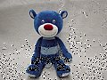Blue Bear Plush Doll