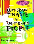 Left Brain Finance For Right Brain Peopl