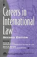 Careers in International Law Second Edition
