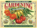The Old Farmer's Almanac 2013 Gardening Calendar Cover