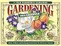The Old Farmer's Almanac Gardening 2014 Calendar