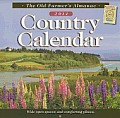 The Old Farmer's Almanac 2014 Country Calendar