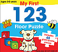 My First 123 Floor Puzzle: Includes 48 Giant Puzzle Pieces