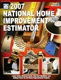 National Home Improvement Estimator with CDROM (National Home Improvement Estimator)
