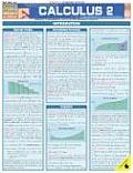 Calculus 2 Laminate Reference Chart Integral & Differential Calculus for Advanced Students