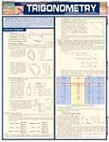 Trigonometry Laminate Reference Chart Triangles Circles Trigonomic Functions Sines