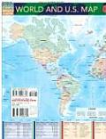 World & US Map
