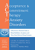 Acceptance & Commitment Therapy for Anxiety Disorders with CDROM Cover