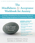 Mindfulness & Acceptance Workbook for Anxiety Cover