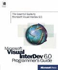 Microsoft Visual Interdev 6.0 Programmers Guide