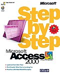 Microsoft Access 2000 Step by Step with CDROM (Step by Step) Cover