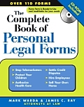 Complete Book of Personal Legal Forms with CDROM (Complete Book of Personal Legal Forms)