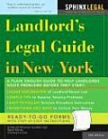 Landlord's Legal Guide in New York