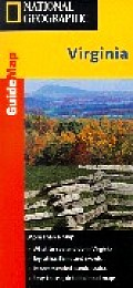 Virginia - Guide (National Geographic GuideMaps)