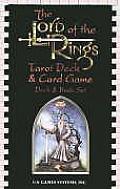 The Lord of the Rings Tarot Deck/Book Set with Book Cover