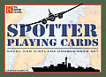 Spotter Playing Cards: Noval and Airplane Double Deck Set