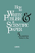 How To Write & Publish A Scientific 5th Edition