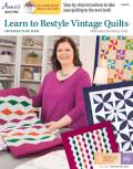 Learn to Restyle Vintage Quilts Pattern Book with Interactive DVD: With Instructor Nancy Scott