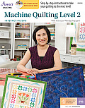 Machine Quilting Level 2 with Interactive Class DVD: With Instructor Wendy Sheppard