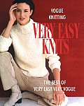 Vogue Knitting Very Easy Knits: The Best of Very Easy Very Vogue (Vogue Knitting) Cover