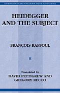 Heidegger & the Subject