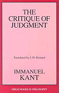 Critique of Judgment (00 Edition) Cover