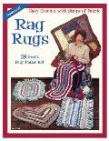 Rag Rugs: 18 Great Rug Patterns Easy Crochet with Strips of Fabric Cover