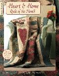 Heart &amp; Home: Quilt of the Month Cover