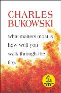 What Matters Most is How Well You Walk Through the Fire Cover