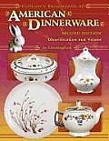 Collectors Encyclopedia of American Dinnerwa 2ND Edition