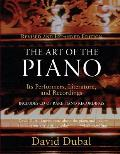 The Art of the Piano: Its Performers, Literature and Recordingsthird Edition Cover