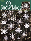99 Snowflakes (Leisure Arts #3013) Cover