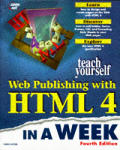 Teach yourself Web publishing with HTML 4 in a week