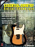 Essential Country Guitar Technique [With CD]