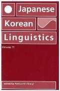 Japanese/Korean Linguistics, Volume 11