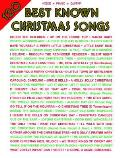 120 Best Known Christmas Songs: Piano/Vocal Mixed Folio