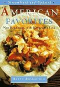 American Favorites Cookbook Streamlined & Up