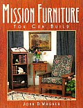 Mission Furniture You Can Build Cover