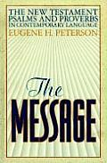 The Message New Testament with Psalms and Proverbs Cover