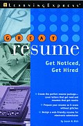 Great Resume!: Stand Out from the Crowd