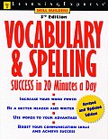Vocabulary & Spelling Success In 20 3rd Edition