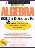 Algebra Success in 20 Minutes a Day (Algebra Success in 20 Minutes a Day)