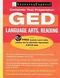 LearningExpress's GED Language Arts, Reading with Access Code (GED Test Prep)